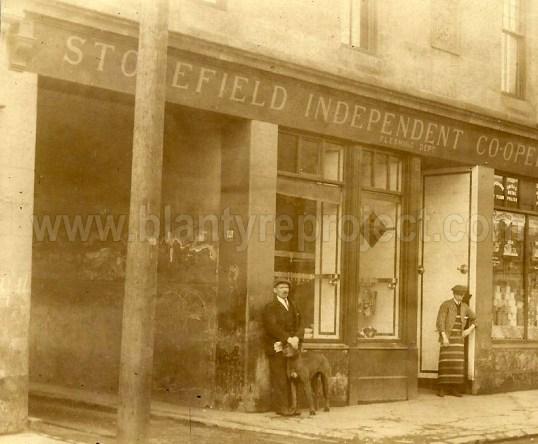 1920s Co-op Fleshing butchers department wm