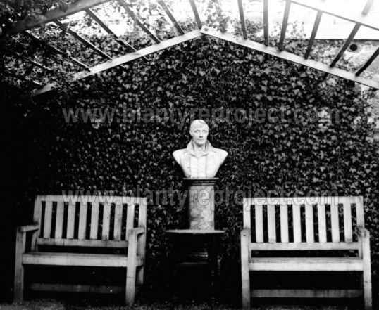 1910 The Alcove Auchentibber Gardens wm