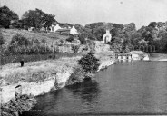 1938 View from Suspension Bridge