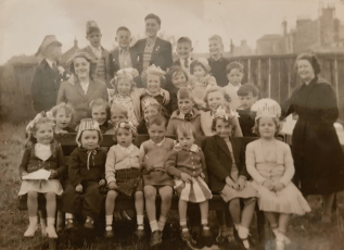 1953 Priory Street Coronation Party