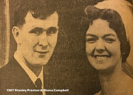 1967 Stanley Preston & Shona Campbell
