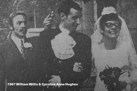 1967 William Willis & Caroline Anne Hughes