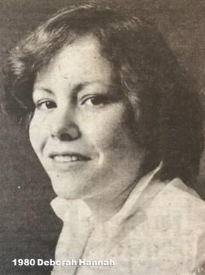 1980 Deborah Hannah