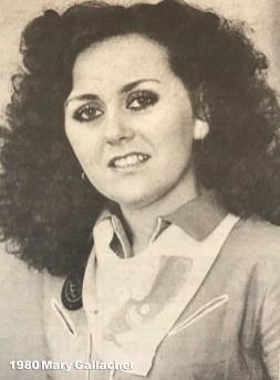 1980 Mary Gallacher