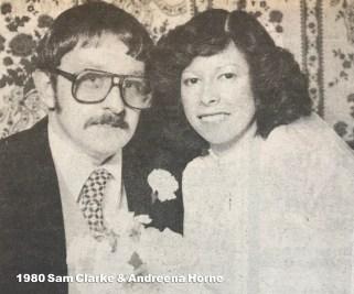 1980 Sam Clarke & Andreena Healey