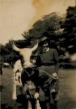 1950s Minnie Stewart at Basket