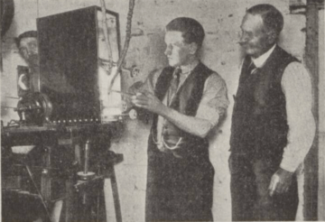 1921 Jim Higgins (boxer) in Blantyre Picture House
