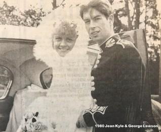1980 Jean Kyle & George Lawson