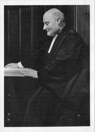 1960s Rev George Dickson of Burleigh