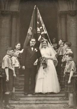 1957 Cameron - Brownlie Wedding