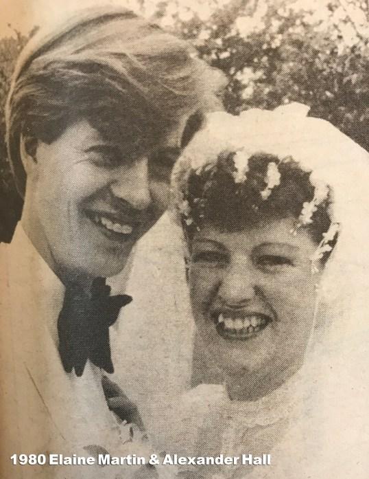 1980 Elaine Martin & Alexander Hall wm