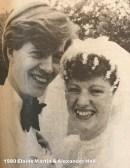 1980 Elaine Martin & Alexander Hall