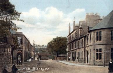 1910s Main Street colourised