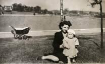 1948 Elizabeth Weaver at Public Park