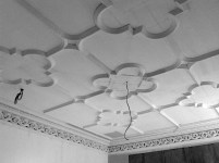 2014 Plasterwork on ceiling crossbasket