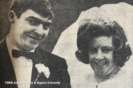 1968 John Dobbie & Agnes Cassidy