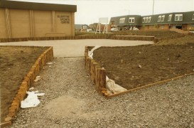 1982 Landscaping the Sports Centre