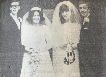 1968 Brian & Marlene Elder Double Wedding
