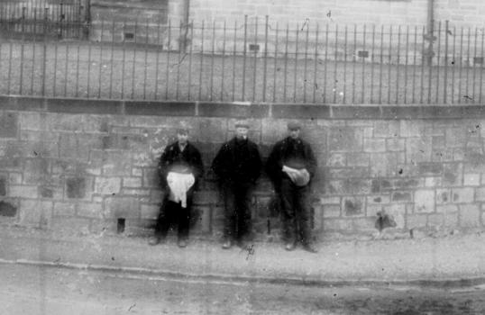 1900s Miners at Auchinraith Road