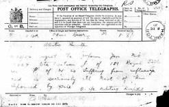 Post office telegram 1