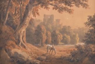 1810 Watercolour by Hugh William WIlliams