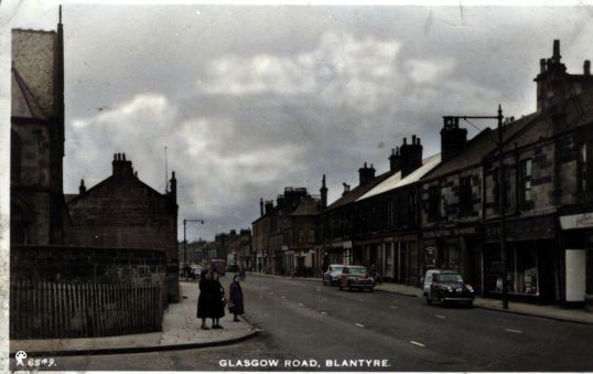 Glasgow rd-Colorized
