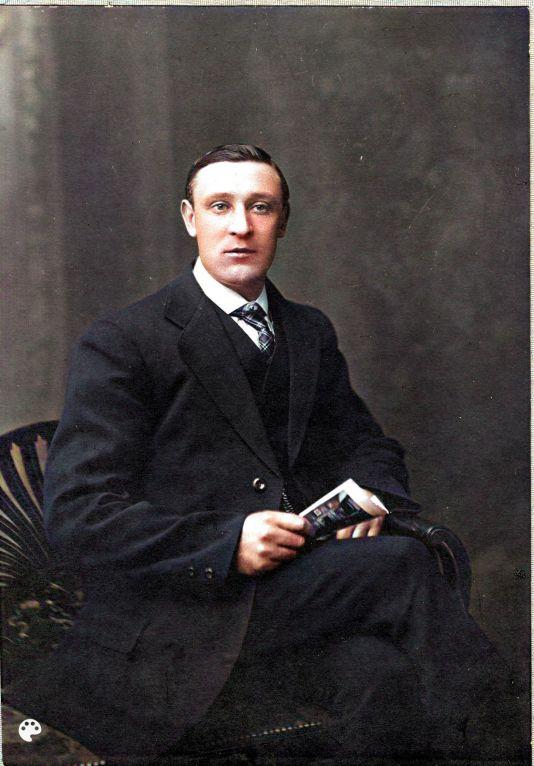 John Patrick Portrait-Colorized