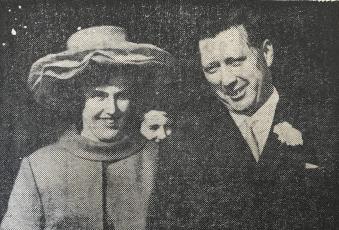 1968 Dorothy McCartney & George Dyer