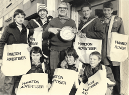 1982 Wullie Pate & Paperboys