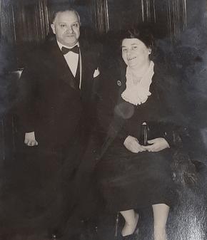 Mickey Valerio & Wife Elvira
