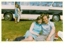 1970 Joe and Janet Veverka of Stonefield Crescent