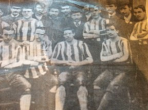 1890 James Kelly and Celtic Team. (James sitting at front)