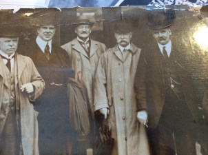 1920 James Kelly on left. Shared by Nora Anderson