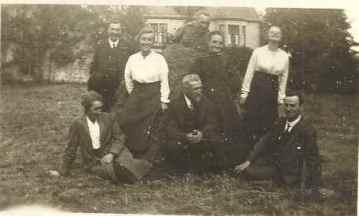 1917 Smail - Hunter Wedding at Blantyreferme