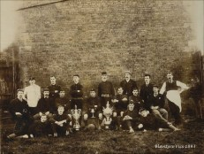 1893 Blantyre Vics Football Club. Shared by J Bethel