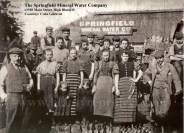 1910 Springfield Mineral Water Company