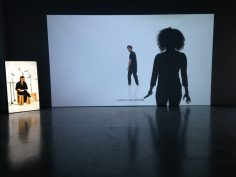 Grada Kilomba, ILLUSIONS, 2017, Installation view III at Galeria Avenida da Índia, Lisbon, Courtesy of the Artist