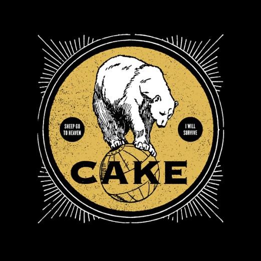 "CAKE :: ""Sheep Go To Heaven"" / ""Jesus Wrote A Blank Check"" 7"""