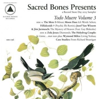 """VARIOUS ARTISTS :: Sacred Bones' Todo Muere Vol. 3 12"""""""