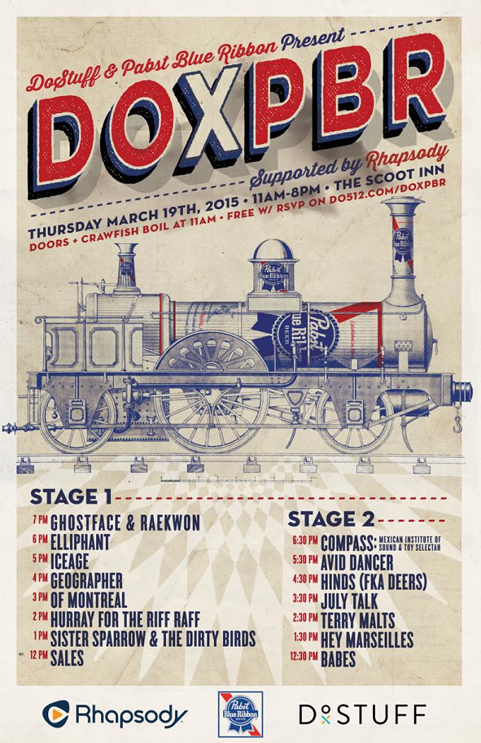 DOxPBR SXSW Day Party