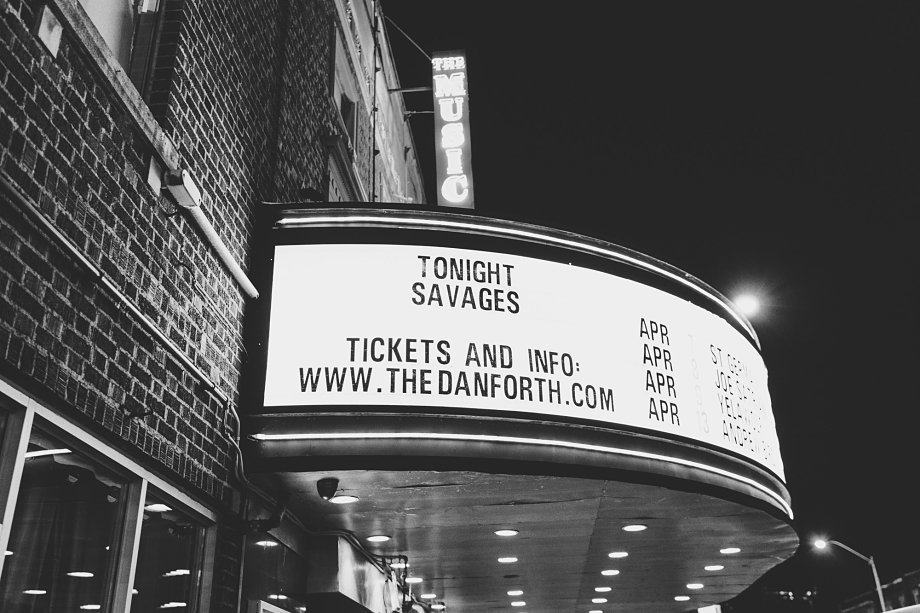 Savages - The Danforth