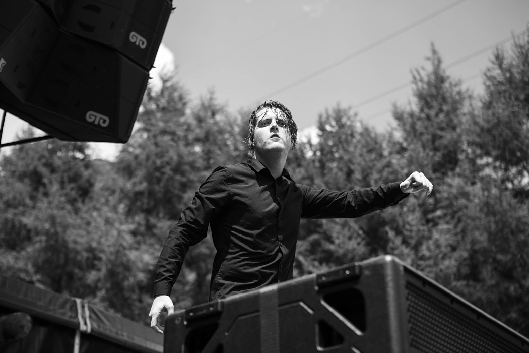 Deafheaven at Fuji Rock Japan