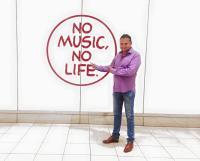Otto M. Schwarz zu Besuch in Japan  Blasmusik