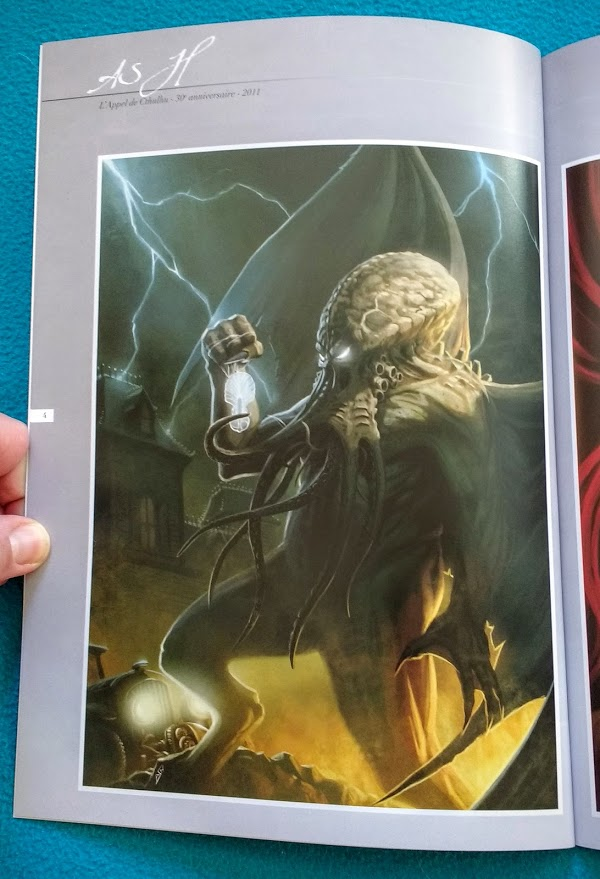 Let Cthulhu be your guiding light (Artbook)