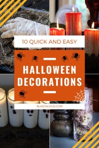 Easy DIY Halloween Decorations for The Spookiest Home On ...