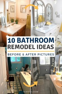 Bathroom Remodel Ideas: 10 Remodel Ideas You Can Do On A
