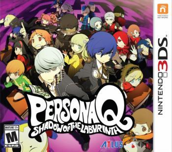 Persona Q Cover Art