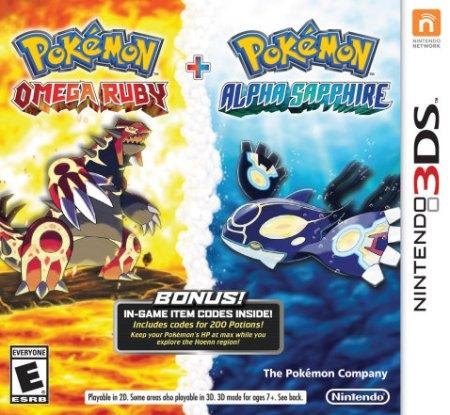 Pokemon OmegaRuby_AlphaSapphire_Combo