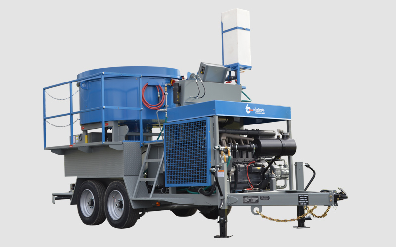 MX-20 Refractory Concrete Mixer Pump