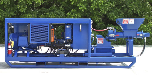MineMate Mining Concrete Pump